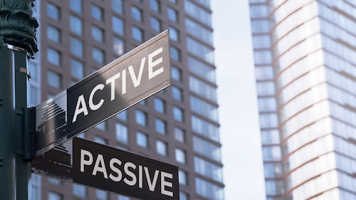 active vs passive real estate investing